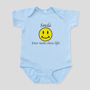 Smile Jesus Baby Light Bodysuit