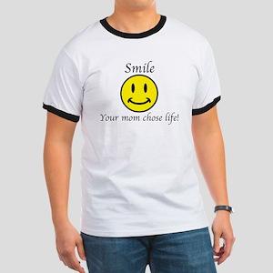 Smile Jesus Ringer T