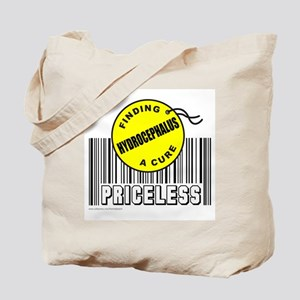 HYDROCEPHALUS FINDING A CURE Tote Bag