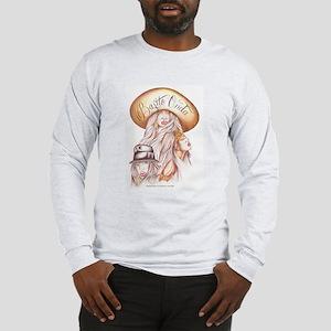 CHOLA CHARRA AZTECA Long Sleeve T-Shirt