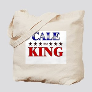CALE for king Tote Bag