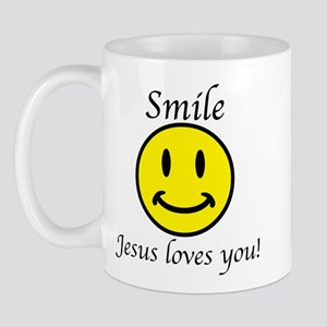 Smile Jesus Mug