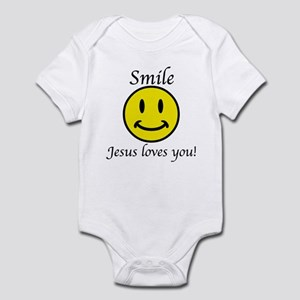 Smile Jesus Infant Bodysuit