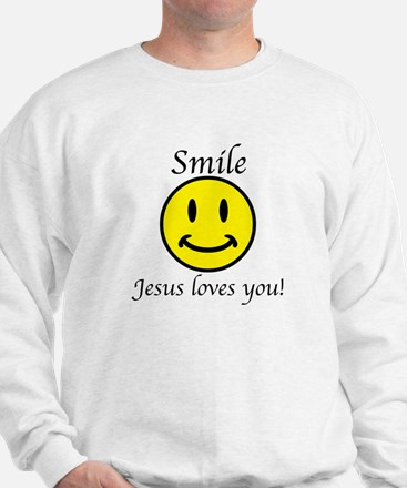 Smile Jesus Sweatshirt