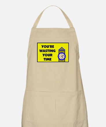 WASTING TIME BBQ Apron
