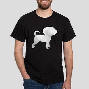 Funny Cute Puggle Dark T-Shirt