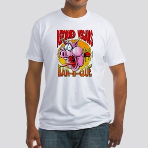 Reformed Vegans Bar-B-Que Fitted T-Shirt