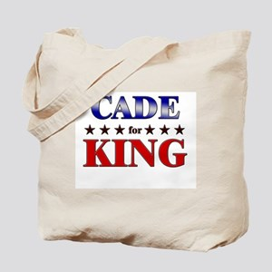 CADE for king Tote Bag