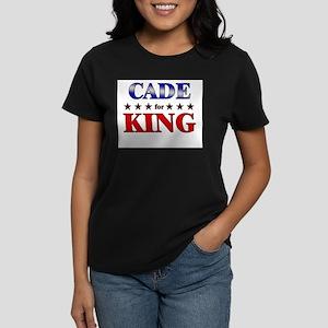 CADE for king Women's Dark T-Shirt