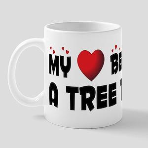 Belongs To A Tree Trimmer Mug