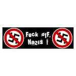 Anti-Nazi Bumper Sticker