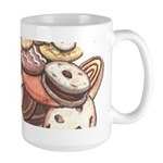 Cookie Lover Large Mug Cookie Art Coffee Cup
