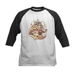 Cookie Lover Kids Baseball Jersey