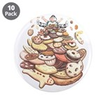 "Cookie Lover 3.5"" Button (10 pack)"