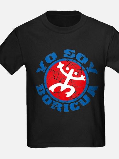 Yo Soy Boricua - Blu-Rd T-Shirt