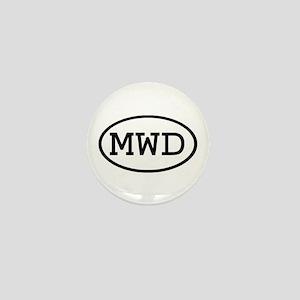 MWD Oval Mini Button