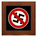 Anti-Nazi Framed Tile