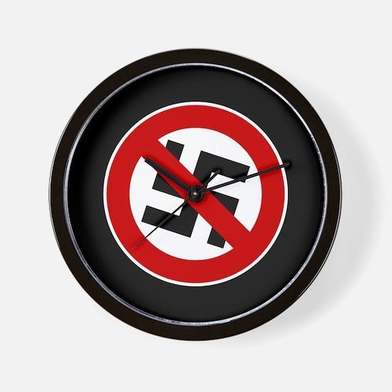 Anti-Nazi Wall Clock