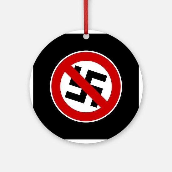 Anti-Nazi Ornament (Round)