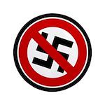 "Anti-Nazi 3.5"" Button (100 pack)"