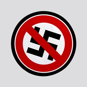 "Anti-Nazi 3.5"" Button"