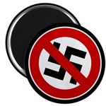 "Anti-Nazi 2.25"" Magnet (10 pack)"