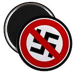 "Anti-Nazi 2.25"" Magnet (100 pack)"