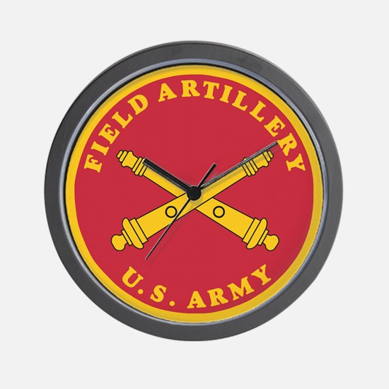 Army Artillery Branch <BR>Wall Clock