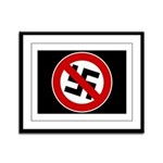 Anti-Nazi Framed Panel Print