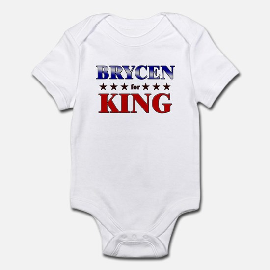 BRYCEN for king Infant Bodysuit