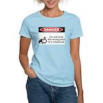Danger. Do not hold the wrong Women's Light T-Shir