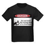 Danger. Do not hold the wrong Kids Dark T-Shirt