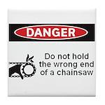 Danger. Do not hold the wrong Tile Coaster