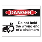 Danger. Do not hold the wrong Small Poster