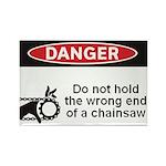 Danger. Do not hold the wrong Rectangle Magnet (10