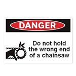Danger. Do not hold the wrong Postcards (Package o