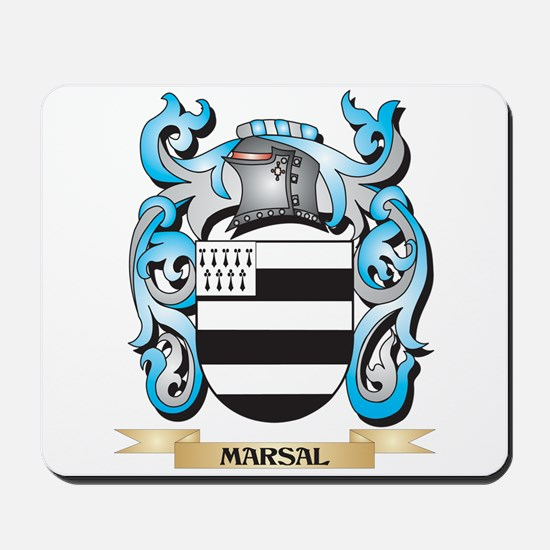 Marsal Coat of Arms - Family Crest Mousepad