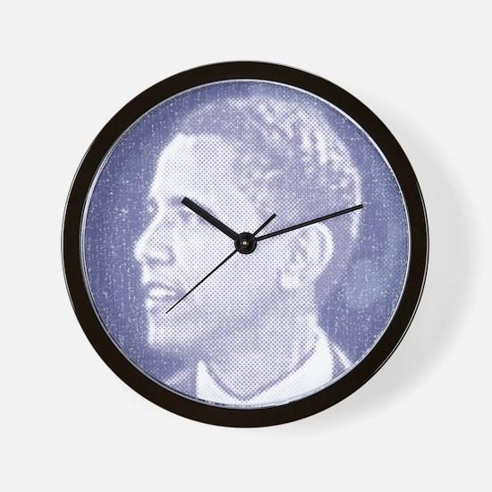 Obama Head Wall Clock
