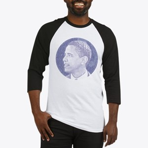 Obama Head Baseball Jersey