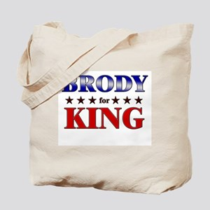 BRODY for king Tote Bag
