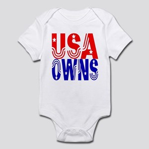 USA OWNS Infant Creeper