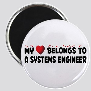 Belongs To A Systems Engineer Magnet