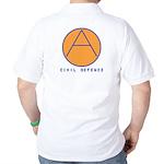 Civil Defence Golf Shirt
