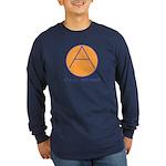 Civil Defence Long Sleeve Dark T-Shirt