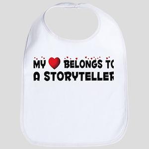 Belongs To A Storyteller Bib