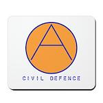 Civil Defence Mousepad