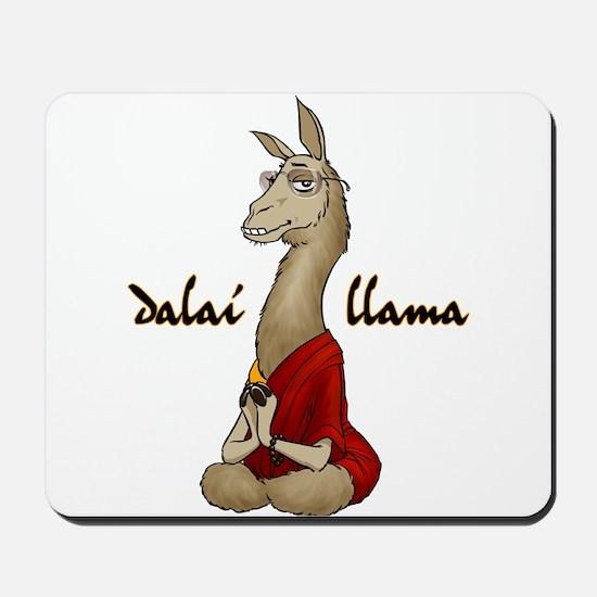 Dalai Llama Mousepad