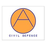 Civil Defence Small Poster