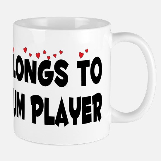 Belongs To A Steel Drum Player Mug