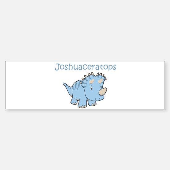 Joshuaceratops Bumper Bumper Bumper Sticker
